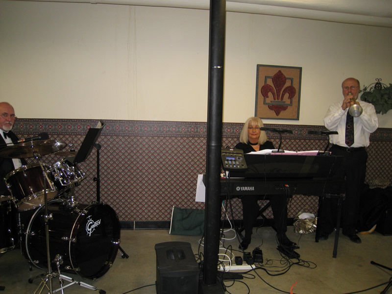 Phyllis&Friends Jazz Trio at Masonic Home